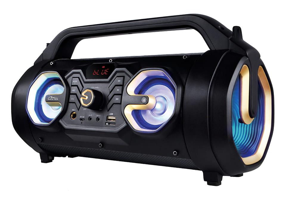Image of U-TUBE BT - Kompaktowy głośnik Bluetooth 5.0+EDR, karaoke. RMS 18W, PMPO650W, FM, akumulator litowo-jonowy